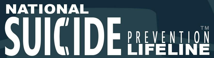 National Suicide Prevention Lifeline. 1-800-273-8255(TALK)
